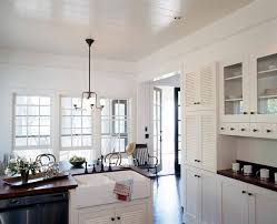 Kitchen Alcove Kitchen Alcove Kitchen Mediterranean With Skylight Black Gas And