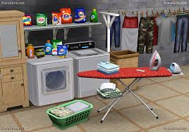sims 3 cc furniture. Sims 3 Cc Furniture. Laundry Decor Set By Dara Savelly Furniture S