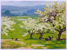 springtime edward potthast hand painted oil painting replica