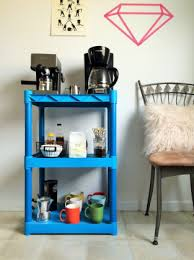 office coffee stations. Outstanding Sink Coffee Station Table Ideas Makerideas Small Blue Plastic Storage Office Stations