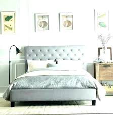 tufted king size headboard gray king size headboard fabric king headboard padded headboard full grey upholstered