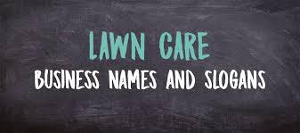 Lawn Care Business Names And Slogans Lawntrepreneur