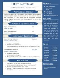 resume one page template executive resume template 10 free professional html css cv resume