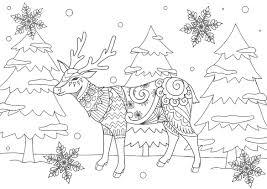 クリスマス無料大人の塗り絵 もくもくん知育プリントキッズ