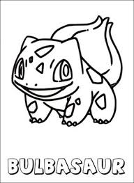 Small Picture Pokemon coloring page Bulbasaur Coloring pages POKEMON