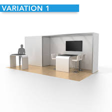 Trade Show Displays Charlotte Nc 10 X 20 Opex Performance Rental Display Closet Design 01