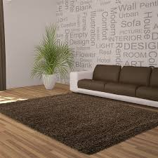 Large Rugs For Living Rooms 5cm Thick Soft Touch Shaggy Shag Pile Rugs Round Runner Circles