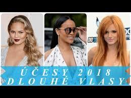 Moderní účesy Dlouhé Vlasy 2018 ženy účesy A Střihy