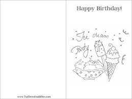 ice cream birthday greeting card coloring page 72 td coloring birthday cards gangcraft net on printable belated birthday cards