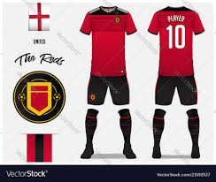 Football Shirt Designs Soccer Jersey Or Football Kit Template Design