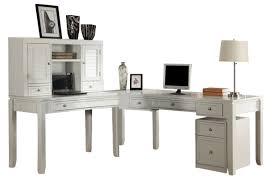 l shaped home office desks. Fine Shaped Parker House Boca 5Piece LShaped Modular Office Desk In Cottage White  SPECIAL Throughout L Shaped Home Desks K