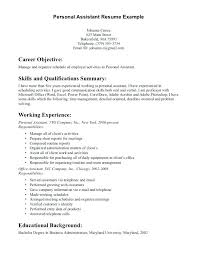 Personal Assistant Resume Template Best of Personal Resume Templates Well Publish Nor Samples Template With