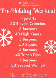 best workout plans pre holiday