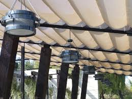 lighting for restaurant. Bourbon Steak Outdoor Restaurant Lighting In Scottsdale AZ For