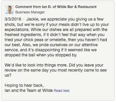 restaurant review examples your restaurants reputation how to protect it with examples