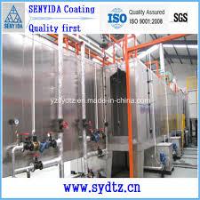 china new electrostatic spray painting line and powder coating machine pretreatment china powder coating machine painting line