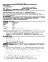 Civil Engineer Job Description Resume Resume Cover Letter Example