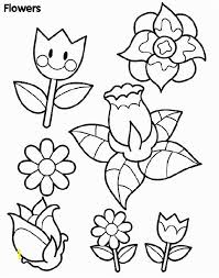 Spring Flowers Coloring Pages Pdf Zabelyesayancom