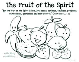 Holy Spirit Coloring Page With Fruits Of The Pages Mebelmag