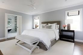 Gray Brown Headboard with White and Gray Hotel Bedding ...