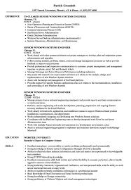 Systems Engineer Resume Resume Sample