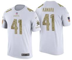 To 2017 White Kamara Draft Salute Service Alvin T-shirt Saints
