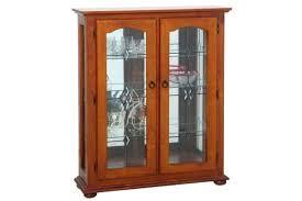 display cabinet crystal display cabinet small brass display cabinet locks