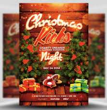 Free Christmas Flyer Templates Download Christmas Flyer Templates For Photoshop Flyerheroes
