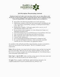 Warehouse Supervisor Job Description For Resume 100 Beautiful Sample Resume for Restaurant Jobs Resume Cover 77