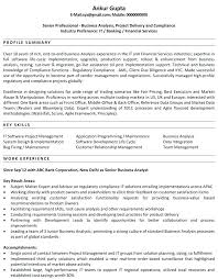 Sample Resumes For Business Analyst Business Analyst Resume Template Word Joefitnessstore Com