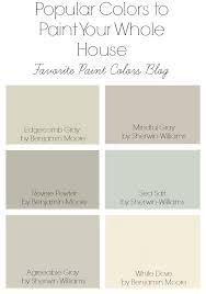 most popular behr paint colorsBehr Paint  Favorite Paint Colors Blog