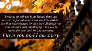 I M Sorry Love Quotes Magnificent I'm Sorry Love Quotes For Her Him Apology Quotes Pics