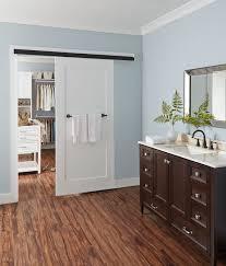 johnson hardware 2610f wall mount sliding door hardware inside glamorous bathroom barn door kit decorating ideas