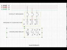 simple start stop motor = power circuit youtube 3 Wire Start Stop Diagram simple start stop motor = power circuit 3 wire start stop switch wiring diagram
