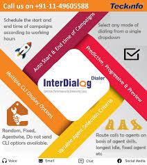 Progressive Call Center Teckinfo Offers Interdialogdialer Works As Automatic