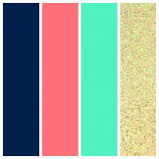 office color palette. Office Color Palette 2015 Palettes Wedding Navy Coral Seafoam And Gold .