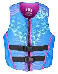 Full Throttle Life Vest Size Chart Womens Hinged Rapid Dry Flex Back Vest Full Throttle
