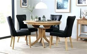 full size of dining table and 6 chairs set round oak extending with black 4 solid