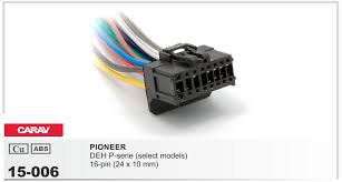 online get cheap pioneer radio wiring harness adapter aliexpress carav 15 006 top quality car iso harness for