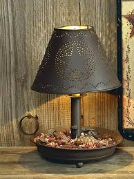 tin punched lamp shades shade lamps chandeliers