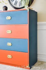 laminate furniture makeover. Brilliant Makeover Campaign Dresser Makeover With Laminate Furniture L