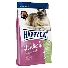 <b>Сухие корма</b> для кошек <b>Happy Cat</b>