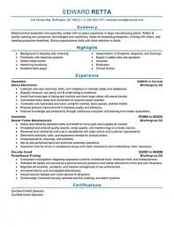 production worker resumeproduction line worker resume samples eager world - Assembly  Line Worker Resume