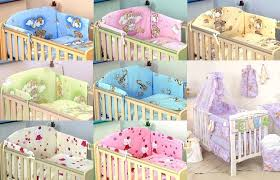 baby boy or baby girl nursery cot set multi auction