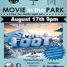 Movies in the Park - Small Foot | Hulafrog Asheville, NC