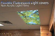 office ceiling light covers. Flexible Fluorescent Light Cover Films Skylight Ceiling Office Medical Dental 68 Covers