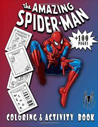 All you have to do is select the drawing you want to color; The Amazing Spiderman Coloring And Activity Book Spider Man Activity Book With Coloring Pages Mazes Puzzles Word Search Brain Games Drawing Kids And Children Who Love Super Hero Spider