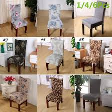 dining room chair covers uk. Brilliant Chair Image Is Loading 146PcsStretchSpandexChairCovers Intended Dining Room Chair Covers Uk