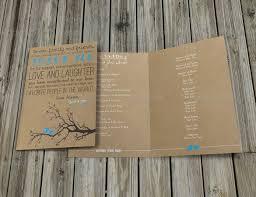Wedding Program Template 41 Free Word Pdf Psd Rustic