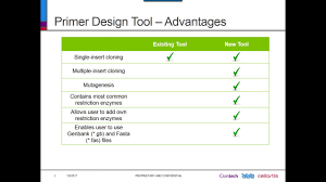 Primer Design Tool Takara Bio Infusion Primer Design Tool